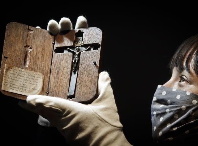 Blessed Edward Oldcorne's crucifix