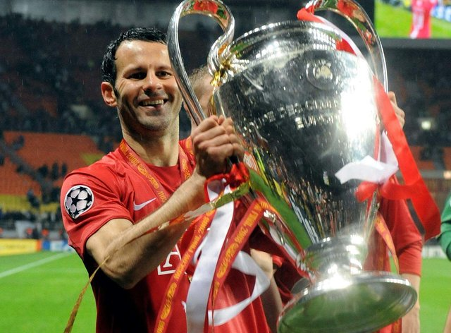 Ryan Giggs' career was laden with honours