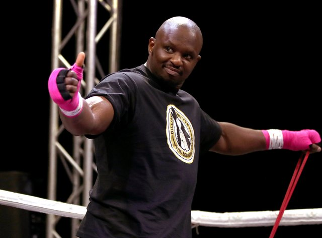Dillian Whyte is looking for a new opponent after Alexander Povetkin tested positive for coronavirus
