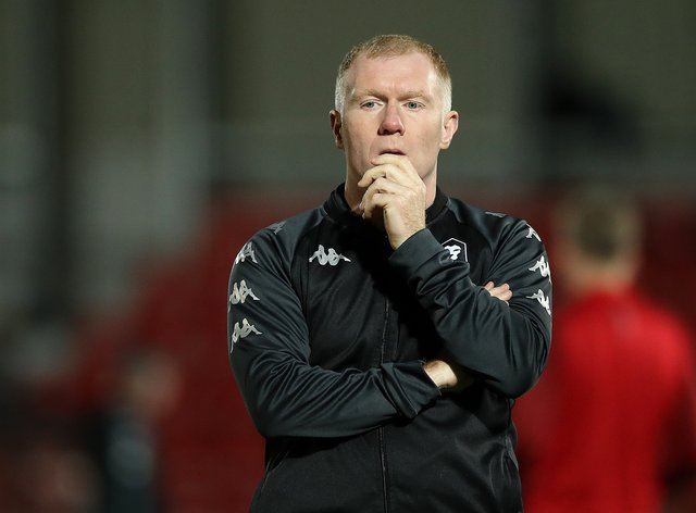 Salford City v Southend United- Sky Bet League Two – Moor Lane