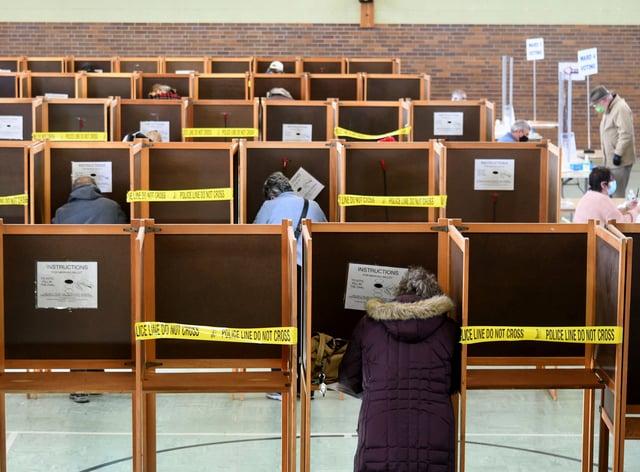 Election 2020 Massachusetts Voting