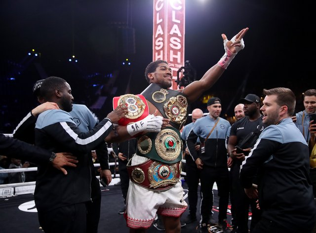 Joshua has traded words with Wilder for several years despite the two never having met in the ring