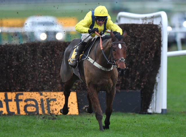 Lostintranslation on his way to winning last year's Betfair Chase