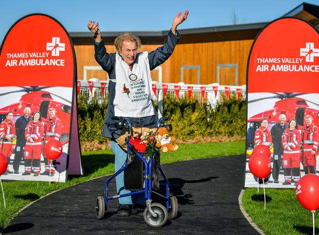 Ruth Saunders charity walk