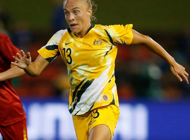 Tameka Yallop is set for another season at Brisbane Roar