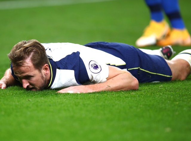 Harry Kane has been criticised for winning a penalty in Tottenham's 2-1 win over Brighton