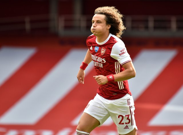 David Luiz will be back in the Arsenal squad for their Europa League game against Molde on Thursday night.