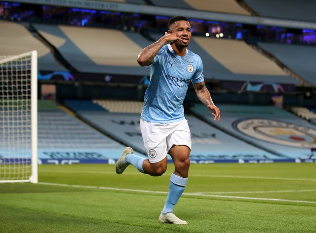 Gabriel Jesus is back in business for Manchester City