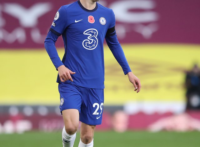Kai Havertz, pictured has tested positive for Covid-19, Chelsea have confirmed
