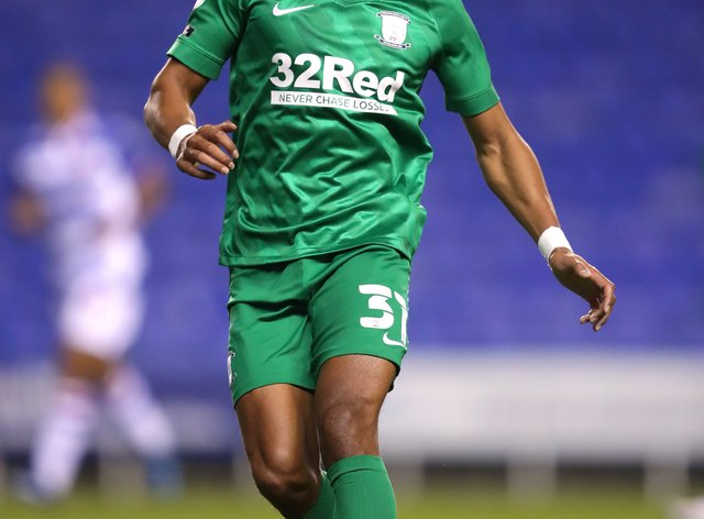 Preston winger Scott Sinclair was among the scorers at Reading