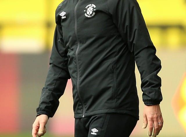 Luton manager Nathan Jones