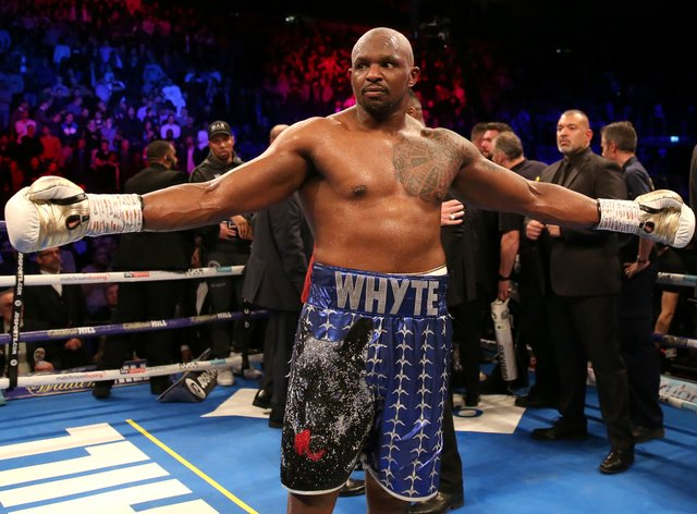Whyte was due to face Povetkin on November 21 before the Russian tested positive for coronavirus