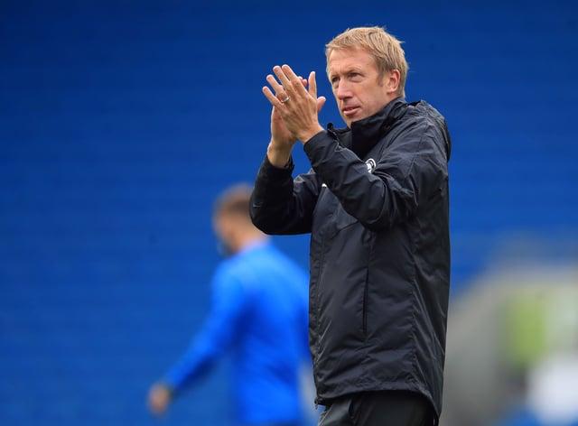 Graham Potter's Brighton hope to end their winless run against Burnley