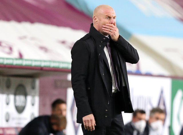 Burnley manager Sean Dyche is still looking for his first Premier League win of the season