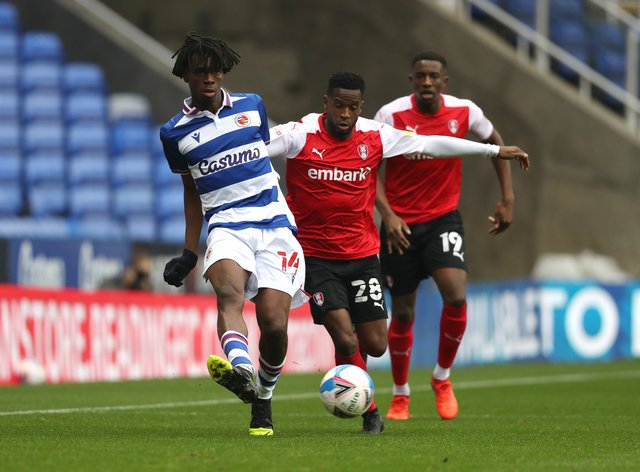 Ovie Ejaria, left, could return for Reading