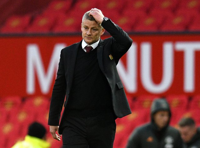 Solskjaer watched on as Manchester United capitulated in the Champions League on Wednesday