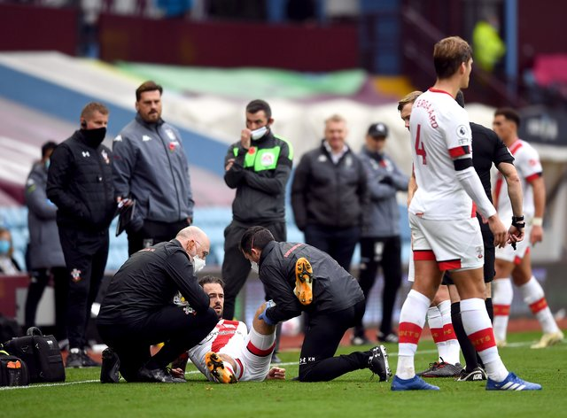 Danny Ings is out injured