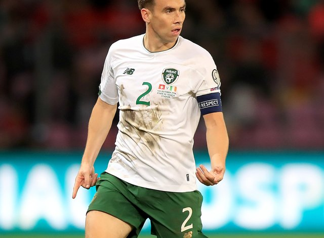 Seamus Coleman is back in the Republic of Ireland squad after injury