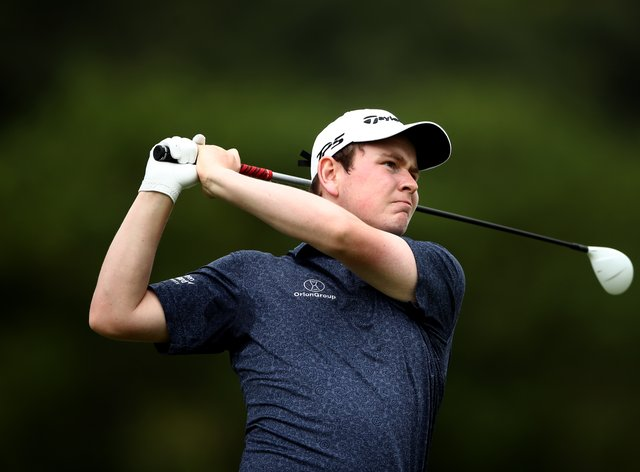 Scotland's Robert MacIntyre holds a one-shot lead after day one of the Cyprus Showdown