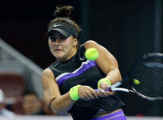 Bianca Andreescu says she is 'perfectly healthy'