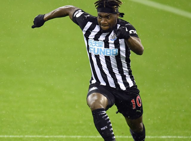 Newcastle's Allan Saint-Maximin is still learning his trade in the Premier League