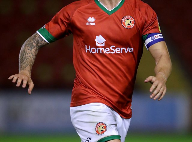 Walsall's James Clarke is expected to miss his side's clash with Bristol Rovers