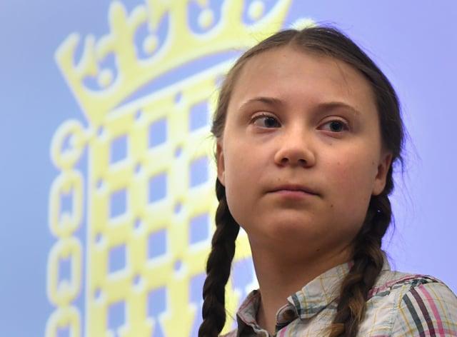 Greta Thunberg, who poked fun at Donald Trump on Thursday