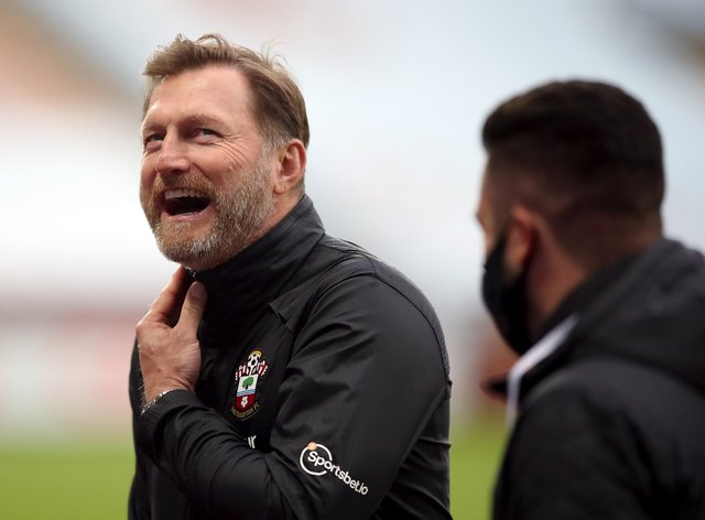 Southampton manager Ralph Hasenhuttl could take his side to the top of the Premier League