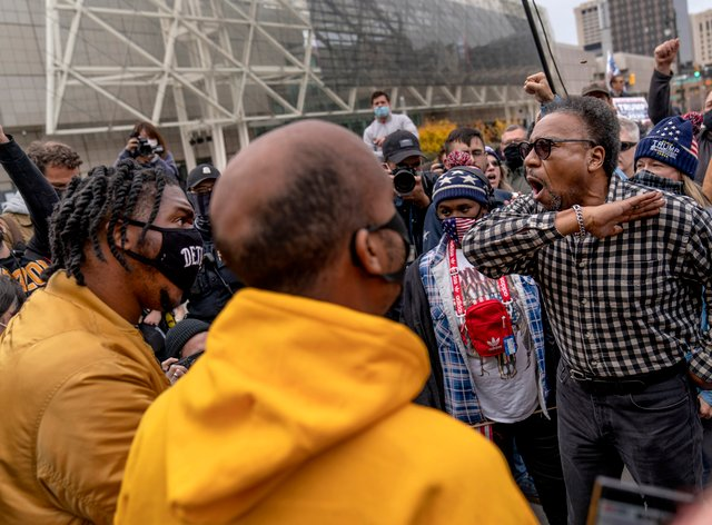 Protests in Detroit