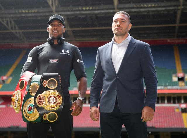 <p>Joshua and Pulev are scheduled to face off in London on December 12</p>