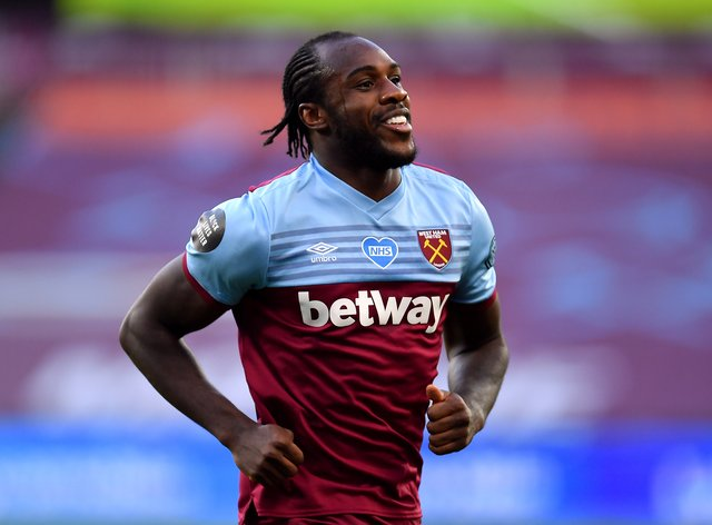 Michail Antonio has been out with a hamstring injury