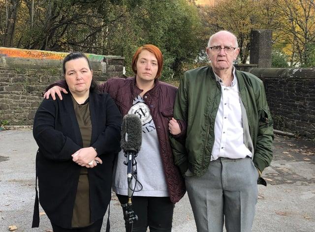 Claire Lewis, Debbie Mountjoy and David Lewis