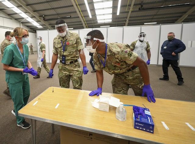Coronavirus testing in Liverpool