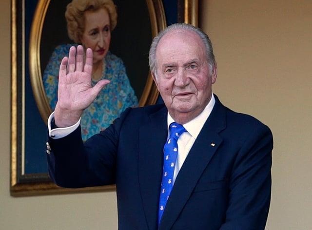 Spain's former king Juan Carlos (Andrea Comas/AP)