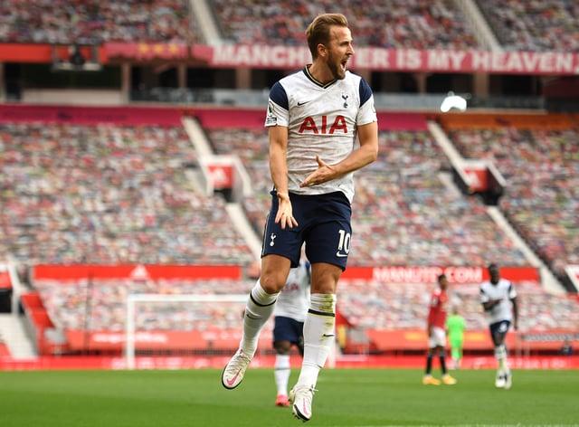 Harry Kane has scored 200 goals for Tottenham