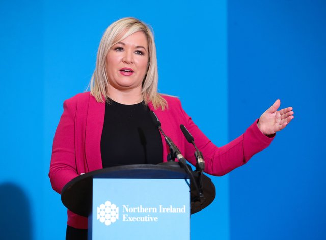 Northern Ireland's Deputy First Minister Michelle O'Neill