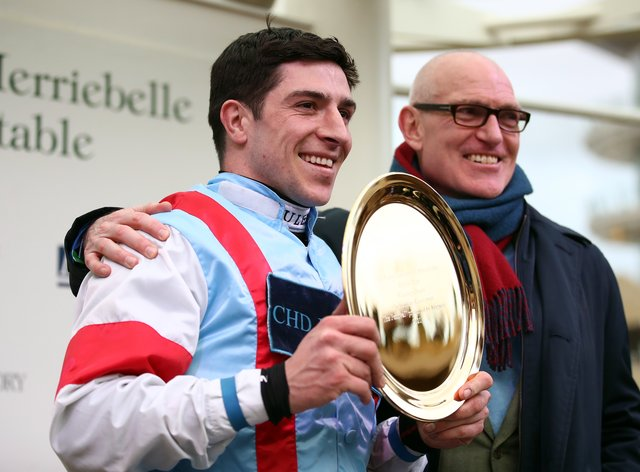 Gavin Sheehan, who aims to be back in the saddle at Cheltenham next weekend