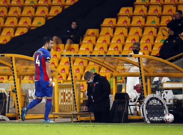 Luka Milivojevic has endured a frustrating start to the season for Crystal Palace