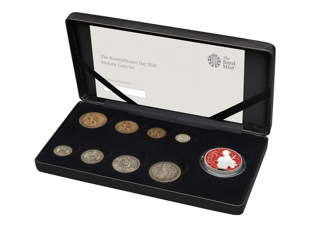 Royal Mint Remembrance Day coin
