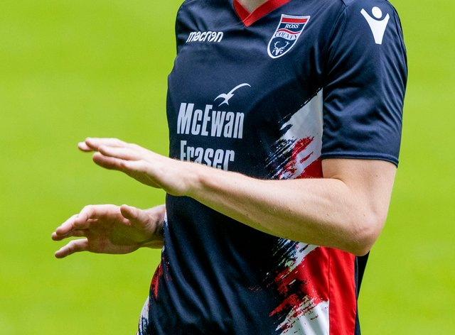 Oli Shaw was on target for Ross County