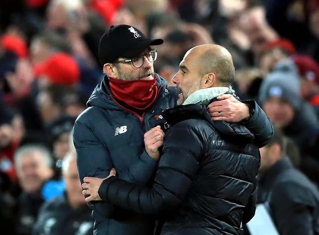 Liverpool manager Jurgen Klopp insists Manchester City still pose the biggest threat to his Premier League champions
