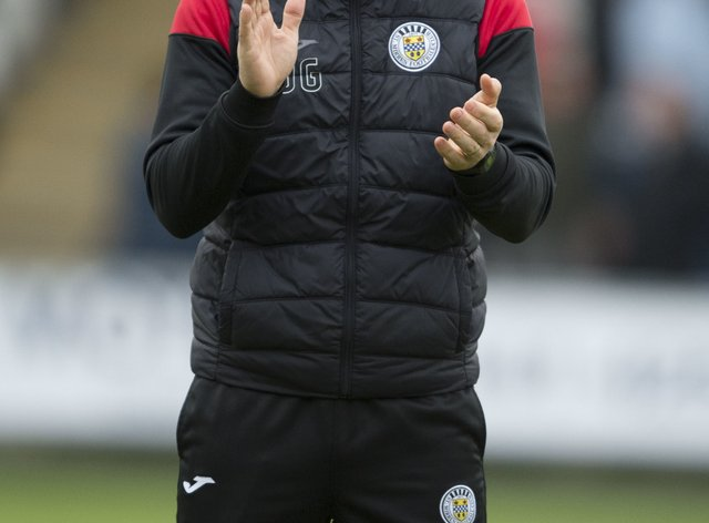 St Mirren manager Jim Goodwin was frustrated his side could not find a goal