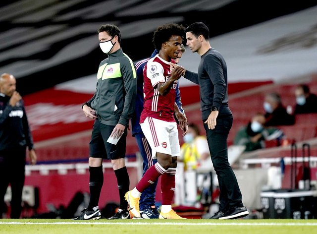 Mikel Arteta has backed Willian to come good at Arsenal
