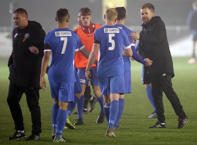 Skelmersdale bowed out of the FA Cup at Harrogate