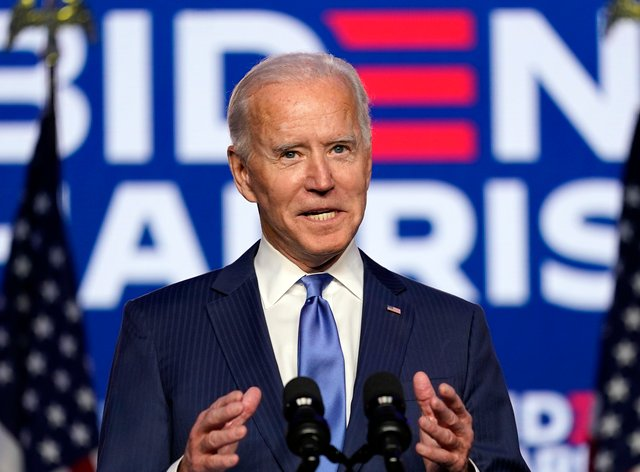 The Democratic candidate made a speech in Wilmington, Delaware on Friday night