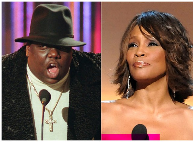 Notorious BIG and Whitney Houston