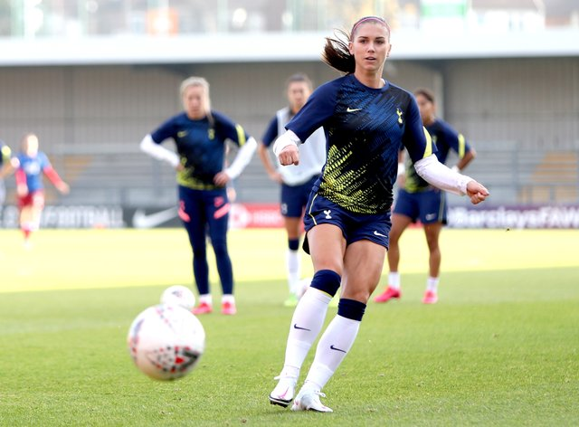 Morgan is set to make her debut for Spurs