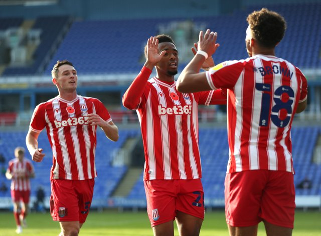 Stoke condemned Reading to a third straight defeat
