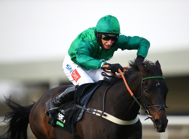 Sceau Royal and Daryl Jacob were emphatic winners of the Unibet Elite Hurdle at Wincanton