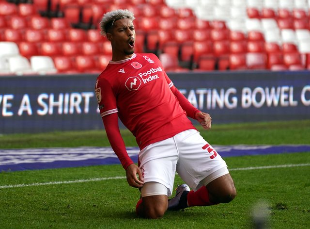 Lyle Taylor was on target for Forest